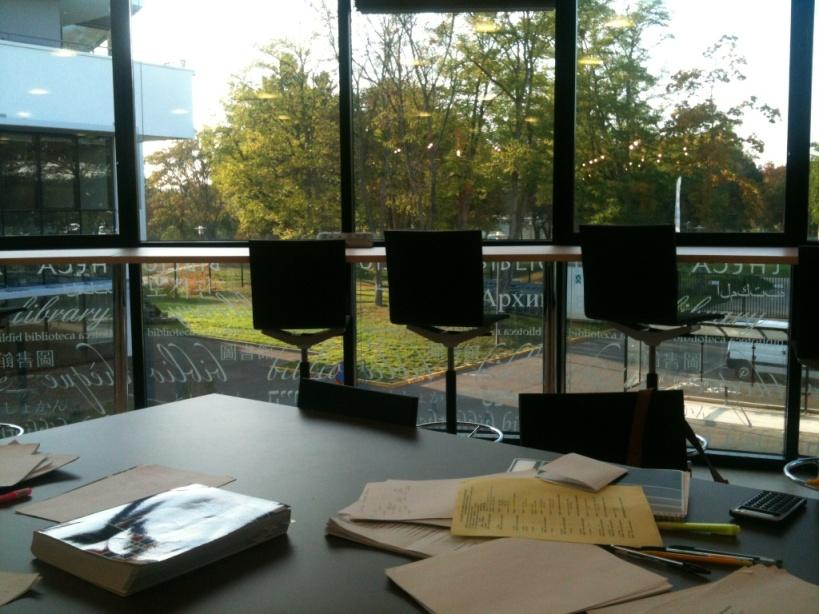Bibliothèque, idéal pour y passer quelques (petites) heures...
