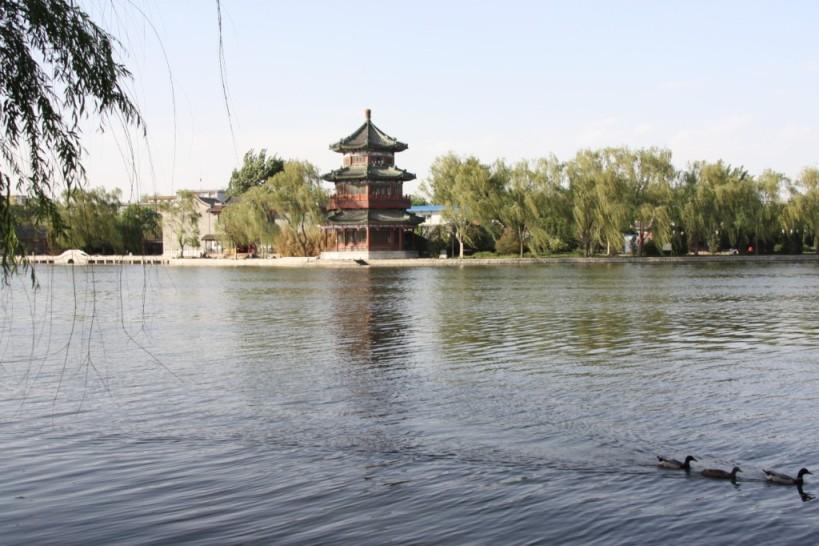 lac à Pékin