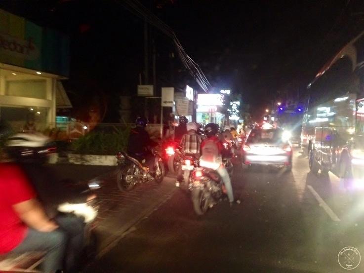 Traffic a Bali