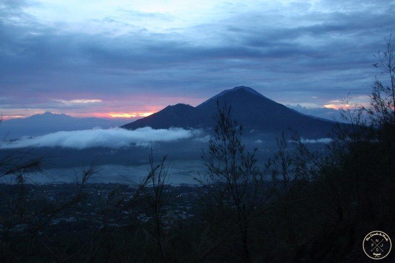 Mont Batur - Lever du soleil