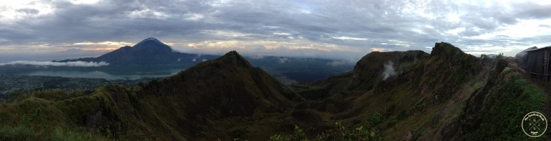 Mont Batur - Panorama