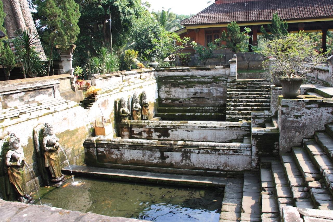 Temple de Goa Gajah à Bali, Indonésie - Bassins - Mes Carnets du Monde